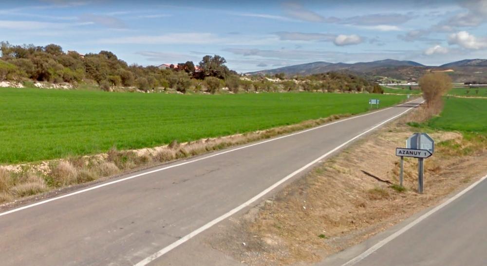 Imatge del lloc on va tenir l'accident