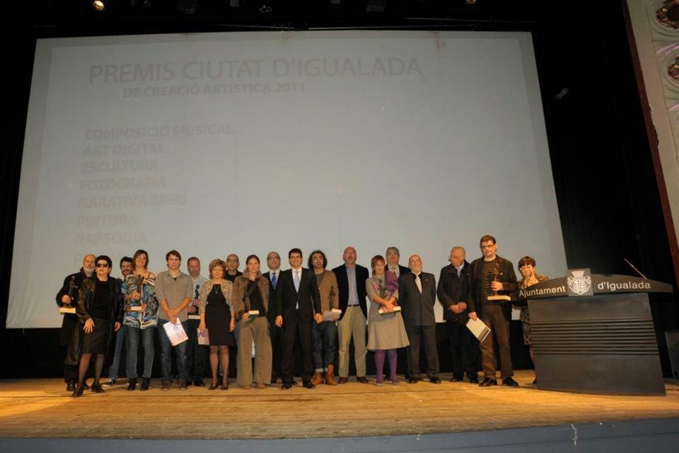 Els guardonats dels Premis Ciutat d'Igualada