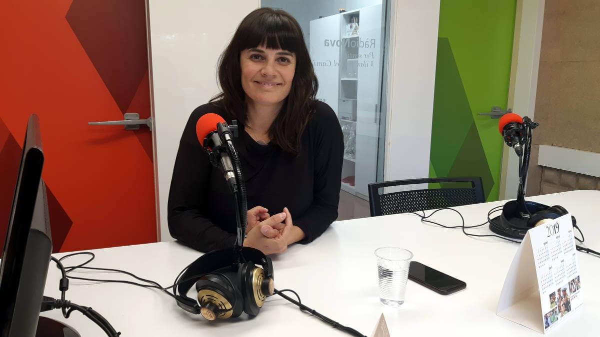 La portaveu de V365, Vanesa González, el passat novembre FOTO: Ràdio Nova
