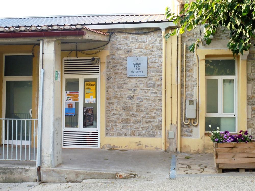 L'entrada del centre sesgueiolenc