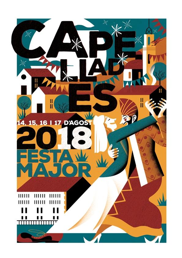 El cartell de l'edició d'enguany de la Festa Major