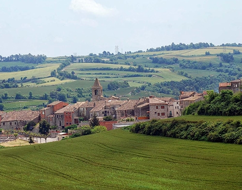 Vista de Montmaneu, un dels municipis que entra en aquest projecte FOTO: FADF Anoia