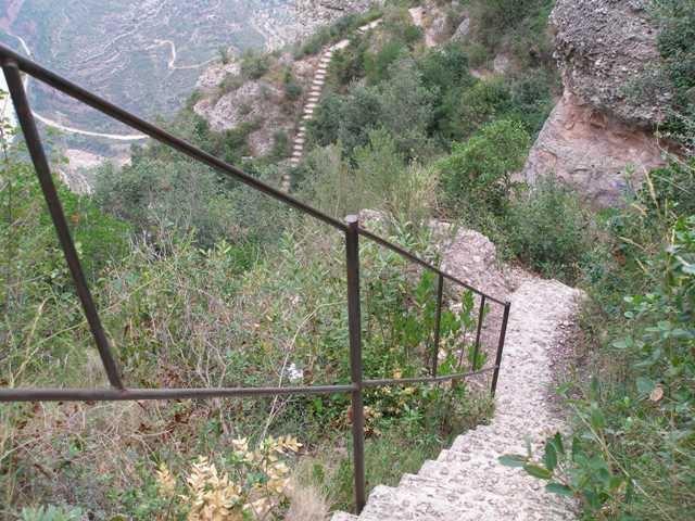 Escales del camí de les Canals