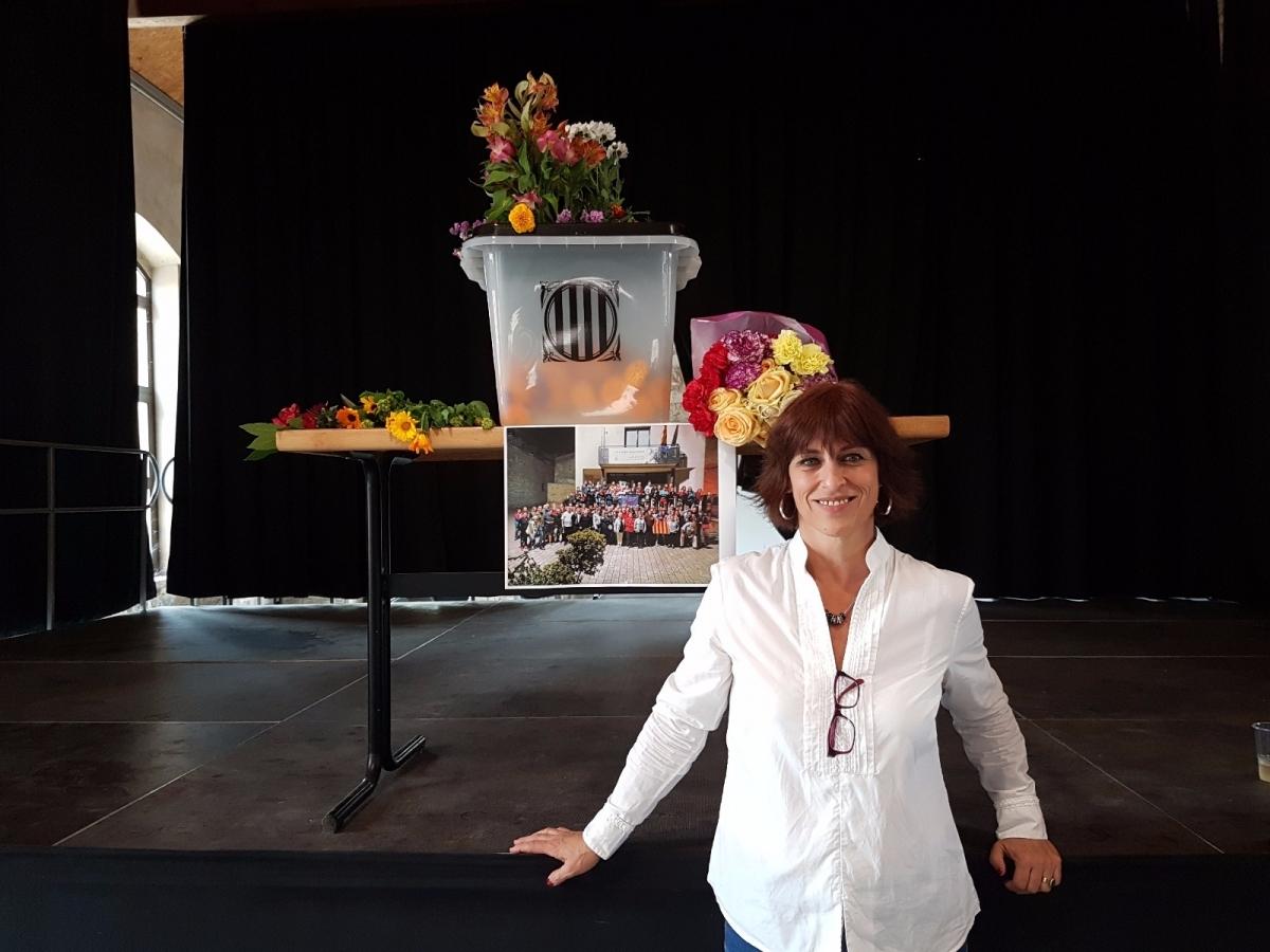 L'alcaldessa sesgueiolenca concorre a les eleccions del maig