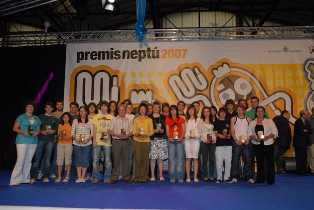 L'entrega dels Premis 2007