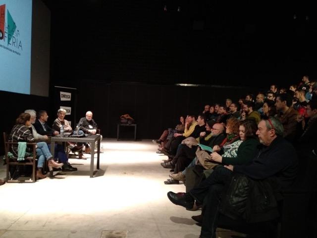 La presentació va comptar amb un nombrós públic