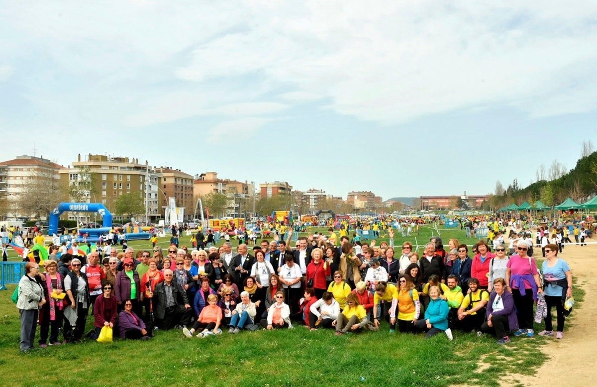 El Parc Central, replè de participants, ha acollit la majoria dels actes de la jornada