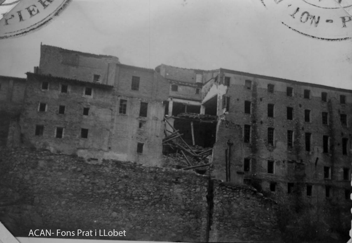 Una imatge antiga de la colònia FOTO: Arxiu Comarcal/Família Prat Llobet