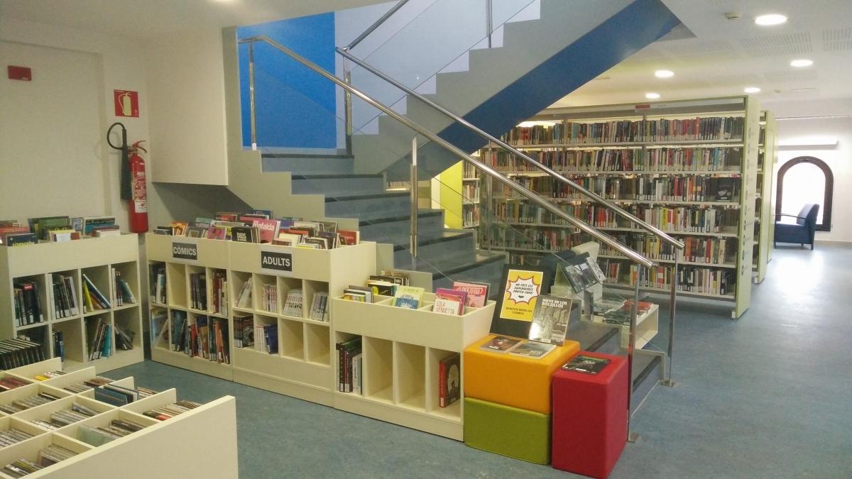 La Biblioteca capelladina, inaugurada fa cinc anys