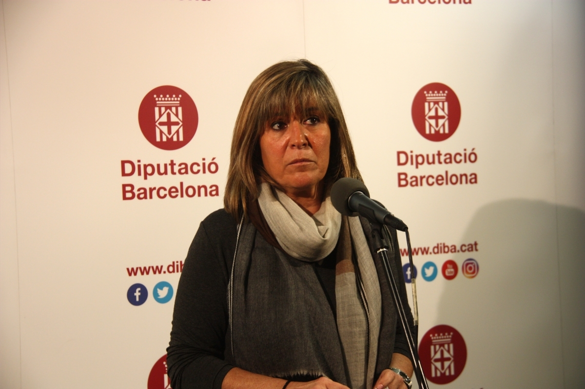 Marín, presidenta de l'ens provincial FOTO: ACN