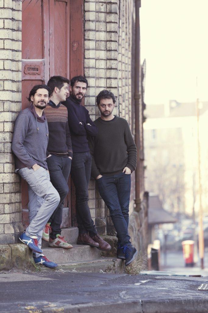 El quartet Els Amics de les Arts, en una foto promocional