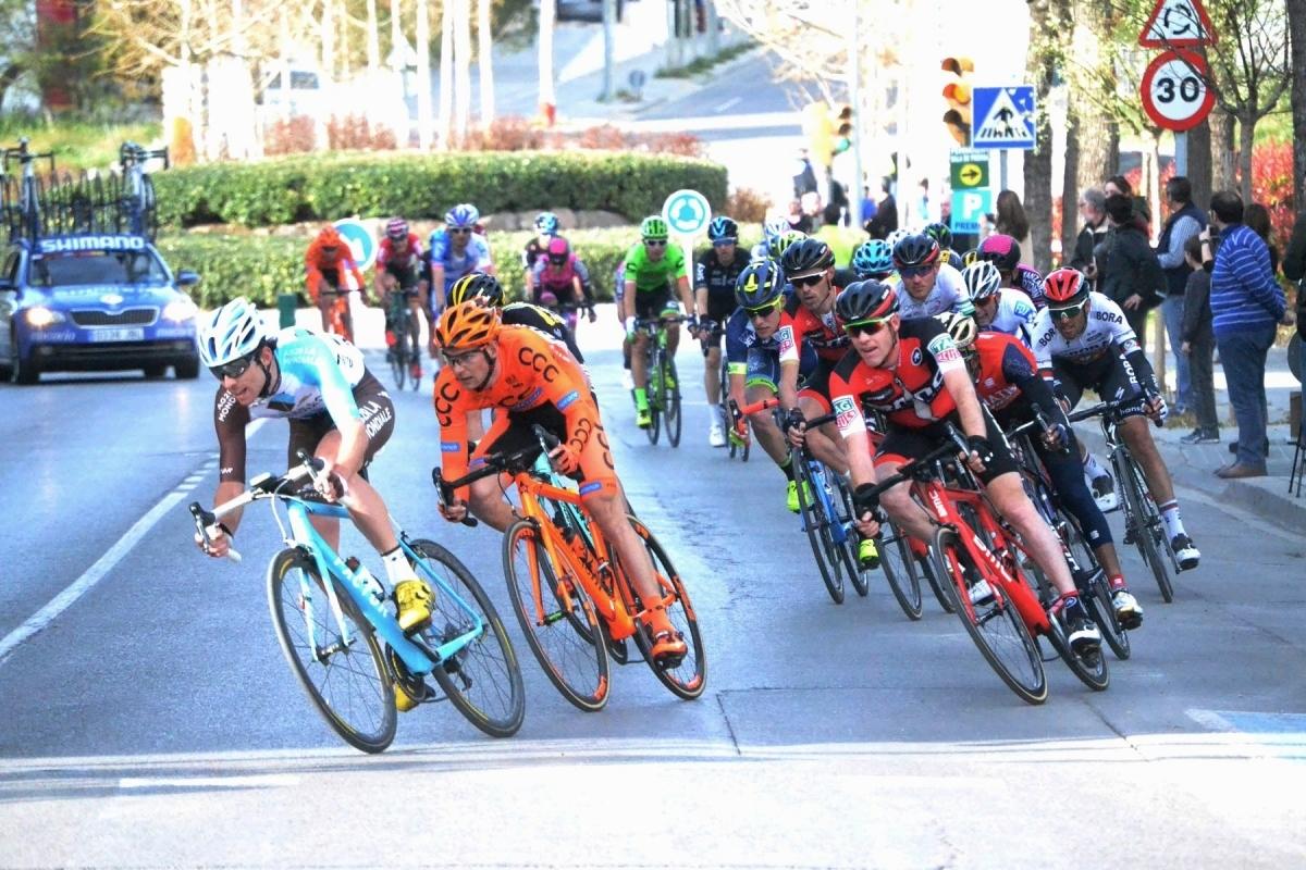 Una de les etapes de la ronda catalana del 2017