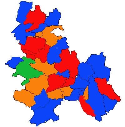 Mapa Anoia 2011
