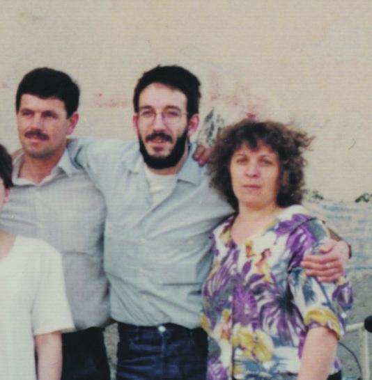 Els Dergic, amb l'Enric Morist, aleshores coordinador de Creu Roja Anoia