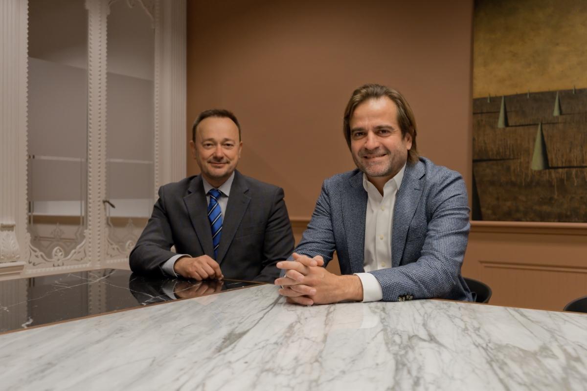 Carlos Calatayud Chollet i Carlos Jimenez Fueyo, notaris