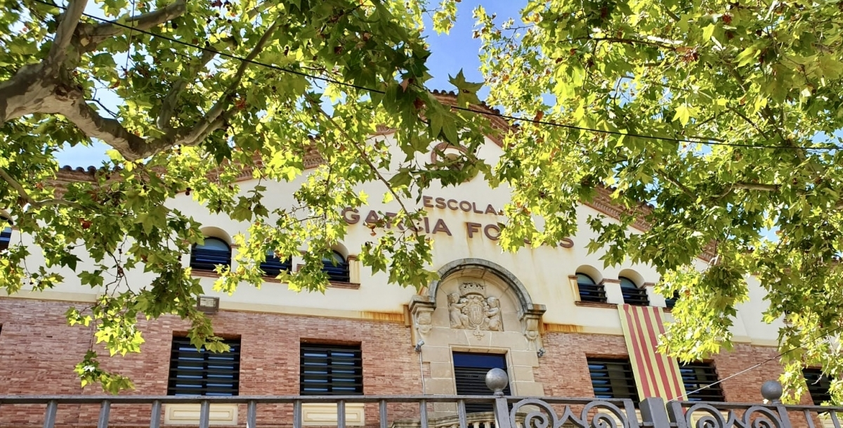 L'escola Garcia Fossas, un dels cinc centres públics de la ciutat