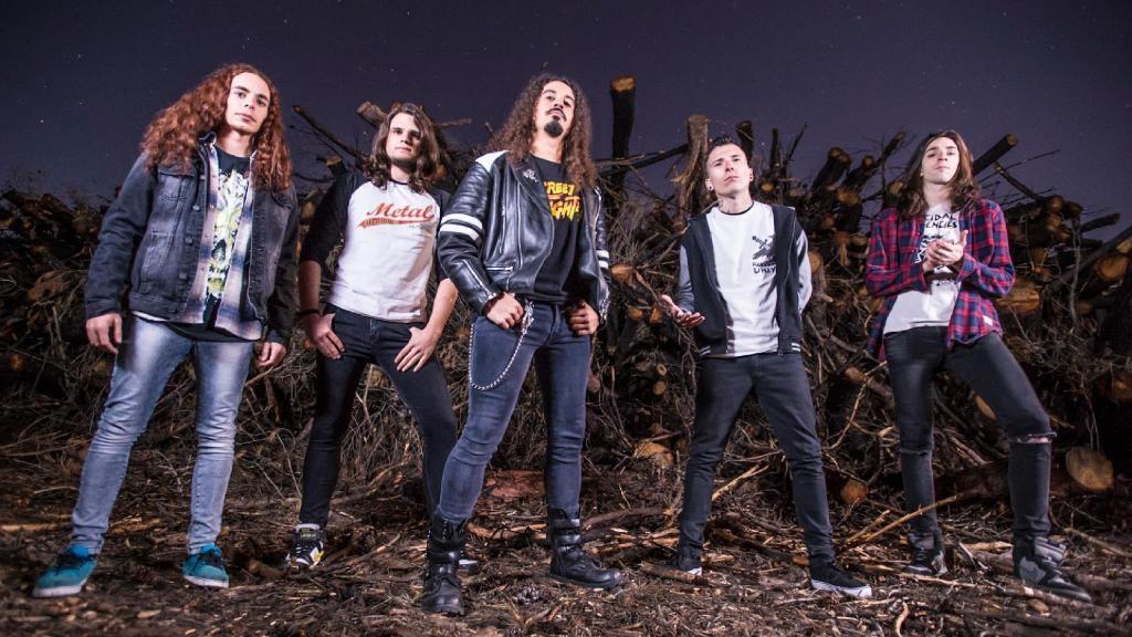 El quintet anoienc, en una foto promocional