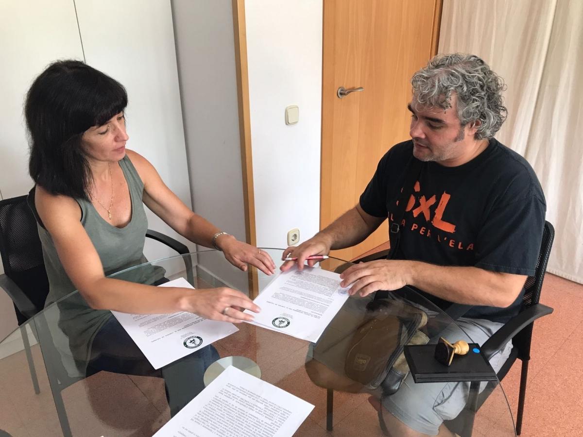 L'acord s'ha signat aquesta setmana.