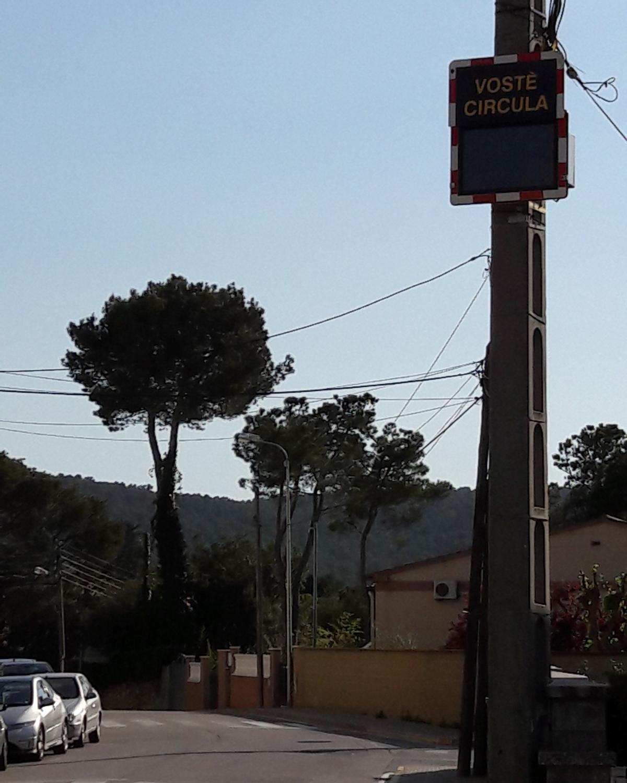 Un radar que apareix per primer cop al municipi