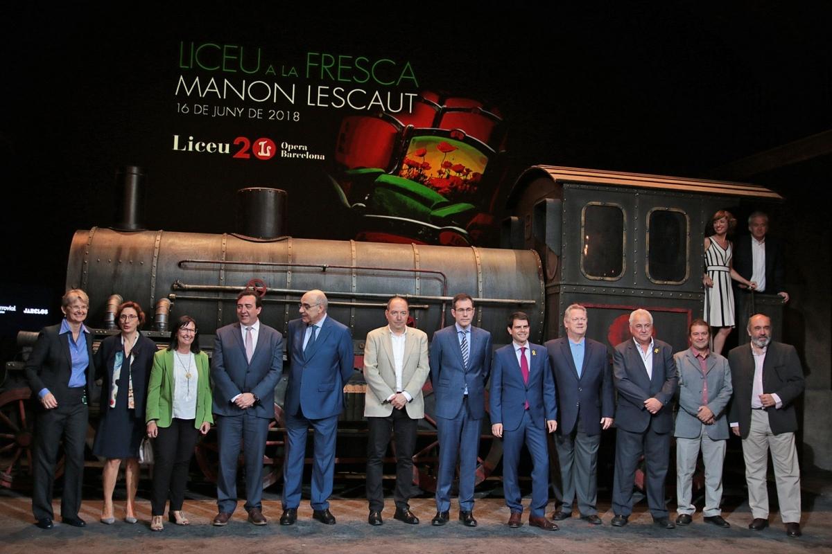La presentació del 'Liceu a la fresca', el passat dilluns a Barcelona