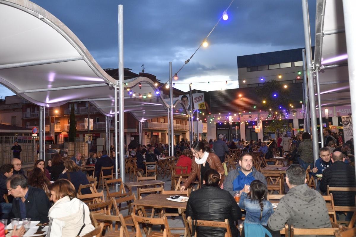 La Plaça, el vespre d'aquest dissabte