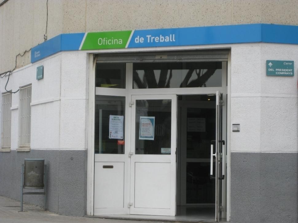 L'oficina del SOC a Vilanova del Camí