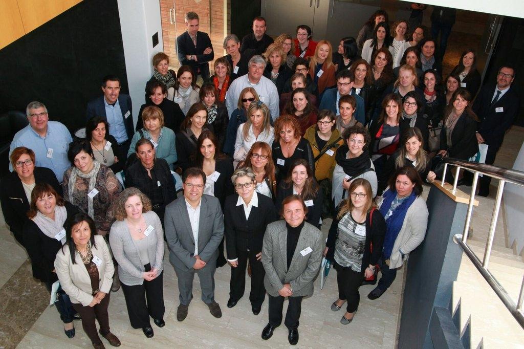 Assistents a la presentación d'UEA Inquieta