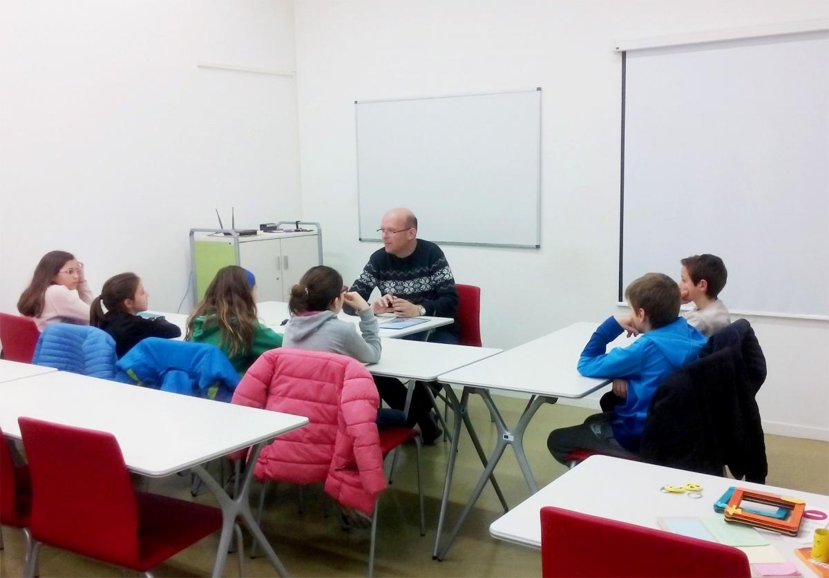 Una de les reunions als espais d'Ig-nova