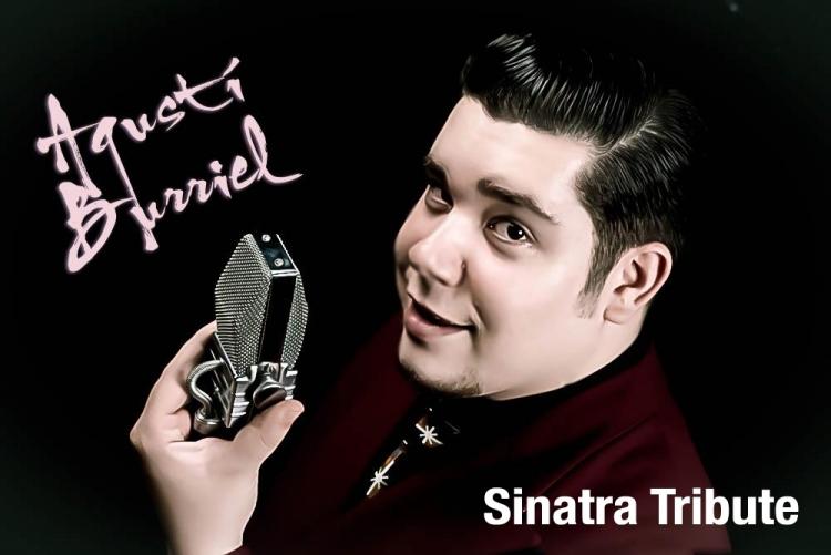 Agustí Burriel, intèrpret de Sinatra
