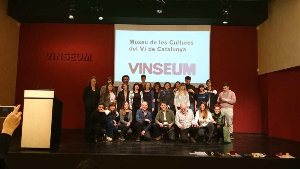 La presentació de la iniciativa, amb professionals d'Igualada i Vilafranca