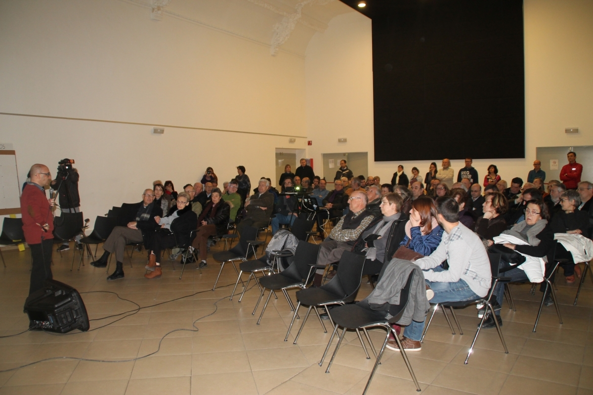 La trobada s'ha fet a l'auditori de l'Ateneu Igualadí