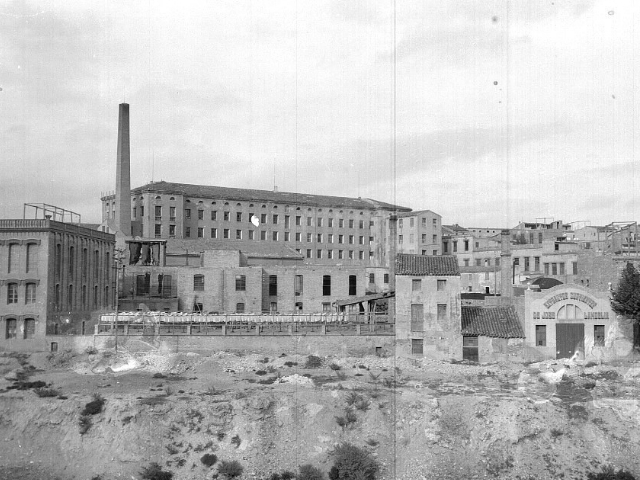 Imatge històrica de la Cotonera
