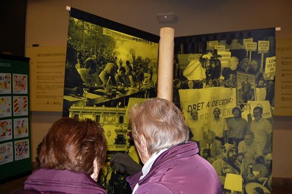 El vestíbul de l'Ateneu acull una exposició sobre la reivindicació de la vegueria Penedès