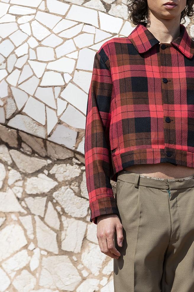 Una creació de Pablo Erroz  Foto: 080 Barcelona Fashion)
