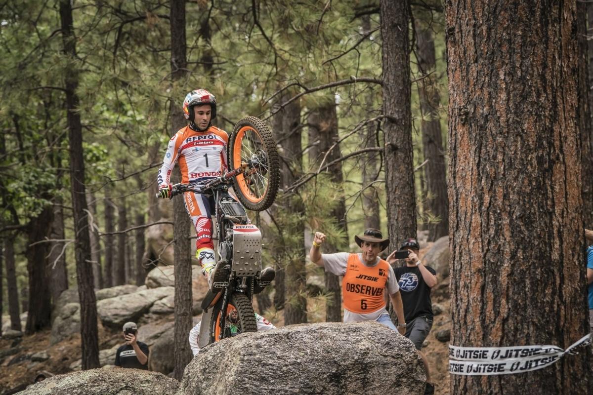 Una de les accions de Bou a Arizona FOTO: Repsol