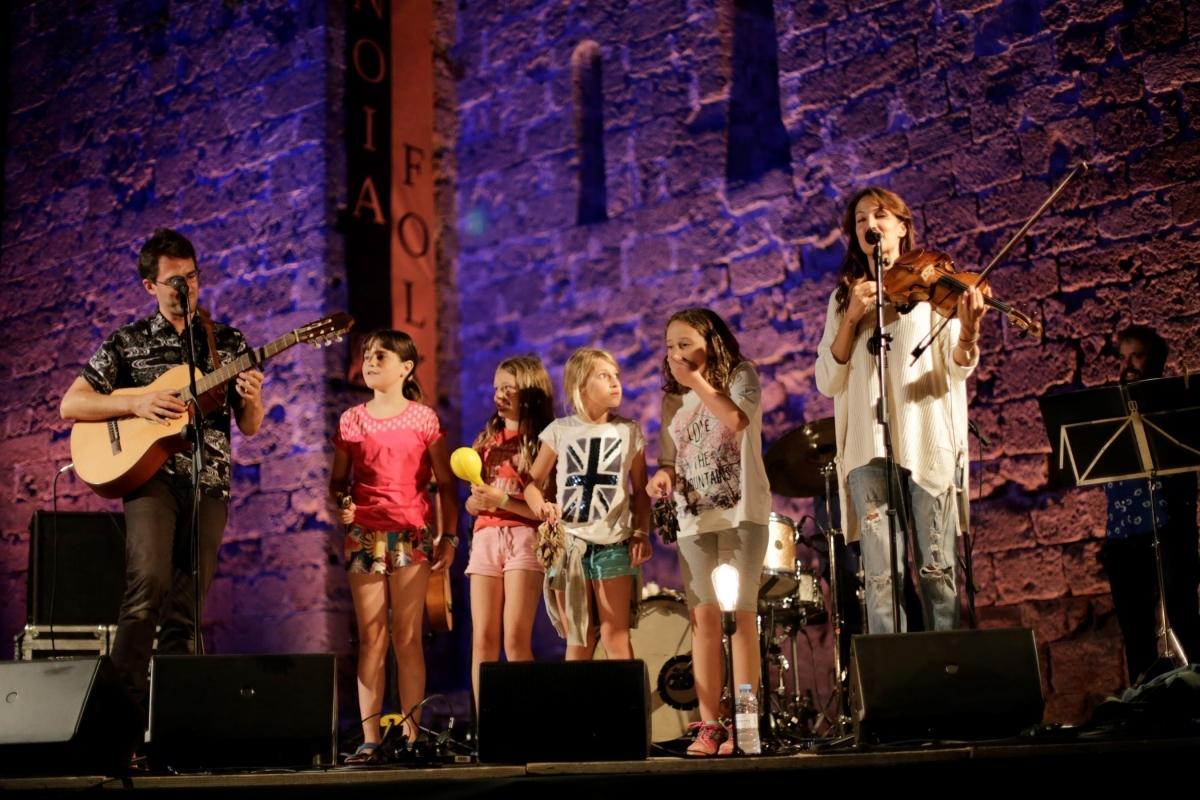 Guillem Roma protegonitzant una de les activitats del festival