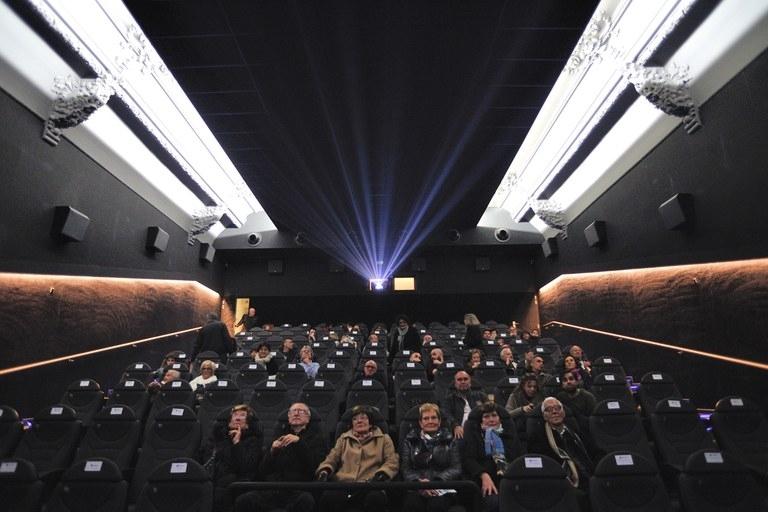 Una de les primeres sessions al cinema, el 2016