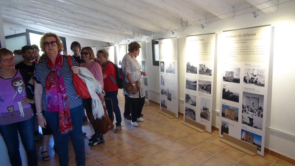 L'obertura del punt, el passat diumenge, amb els primers visitants