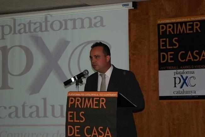 Hernando, durant la campanya de les municipals de 2011