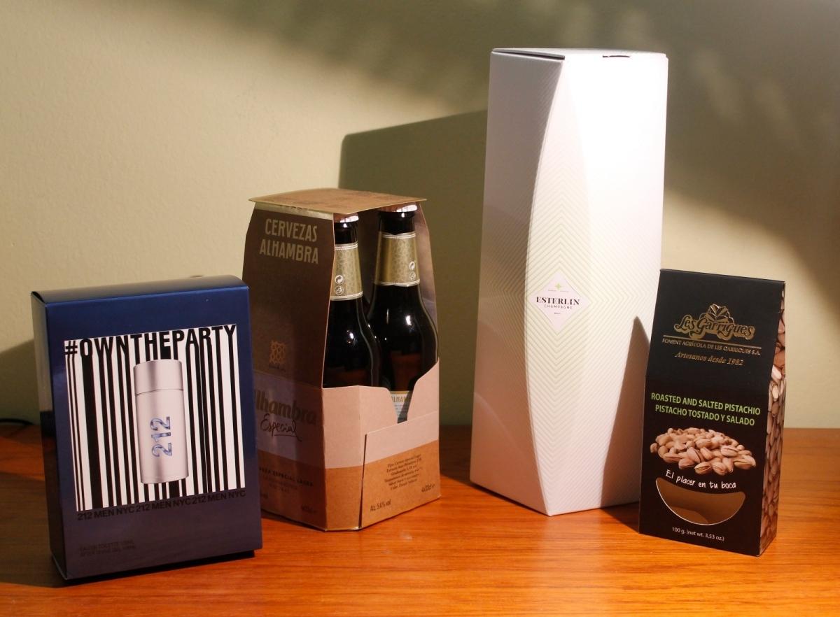 Alguns dels productes que s'han embalat i dissenyat a l'Anoia
