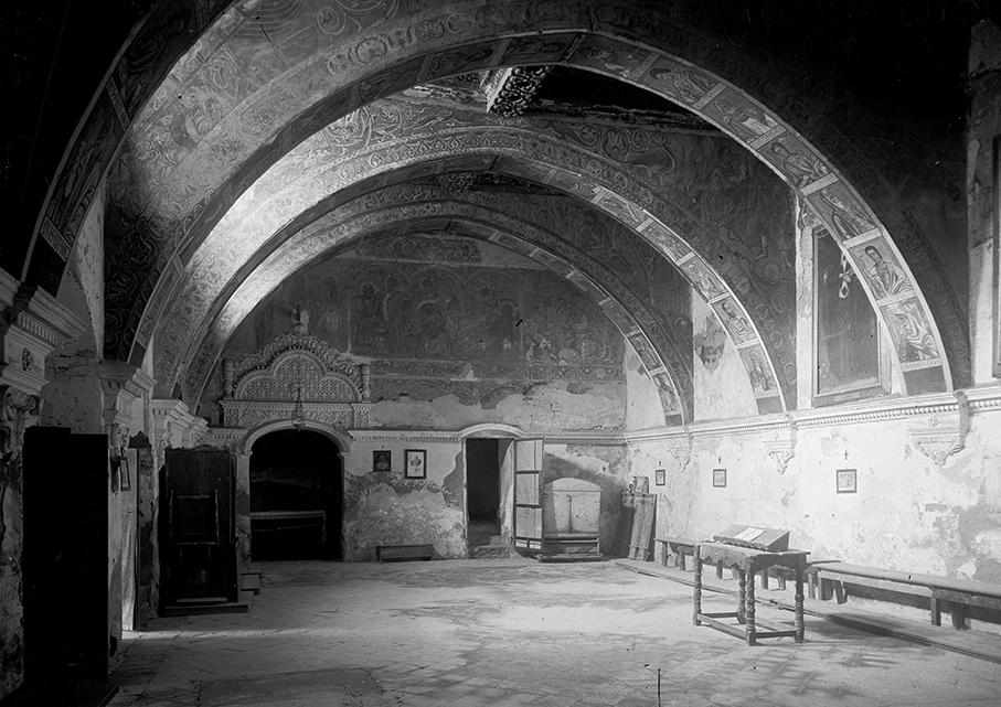 La Sala Capitular abans de la destrucció en un incendi el 1936