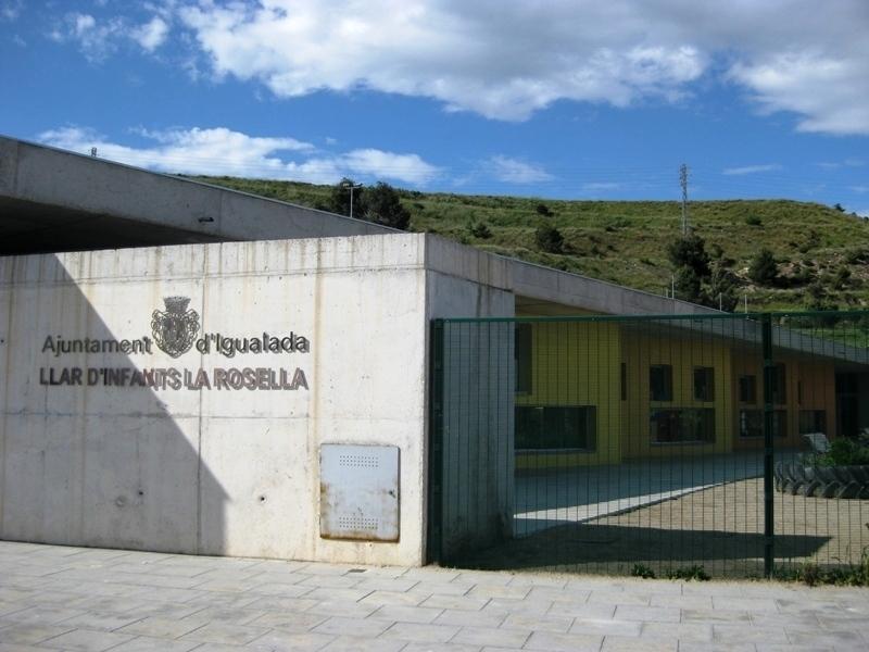 La Rosella, una de les llars d'infants municipals a Igualada