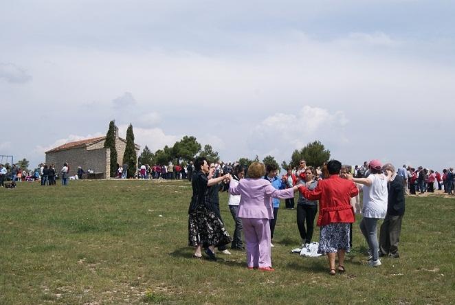 Resultat d'imatges de montanya de l´hermita de sant sebastià calaf