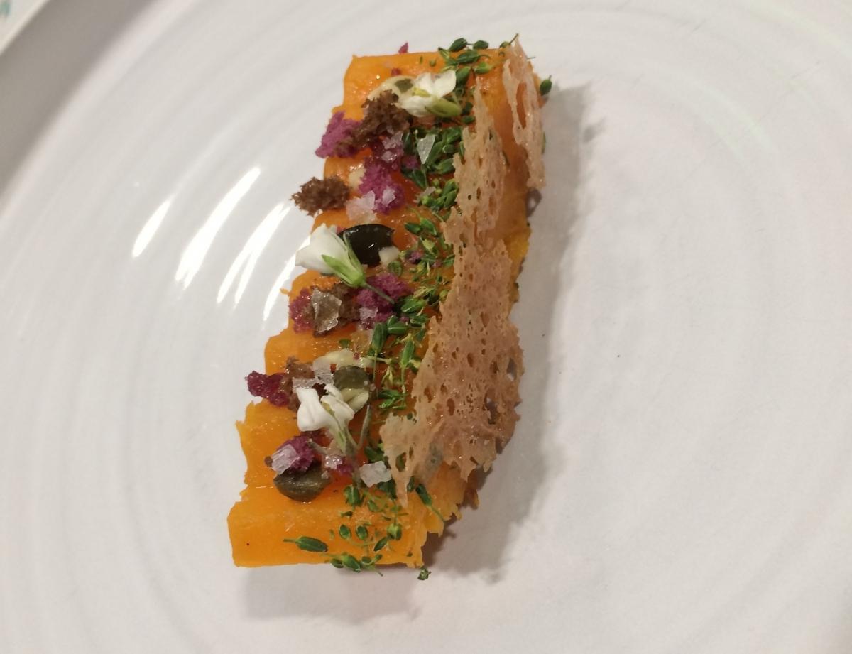 El plat cuinat per la Júlia Caparrós a la final