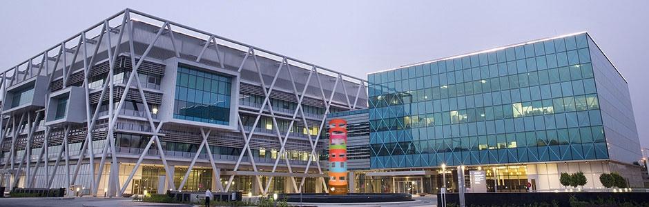 Vista general de l'hospital