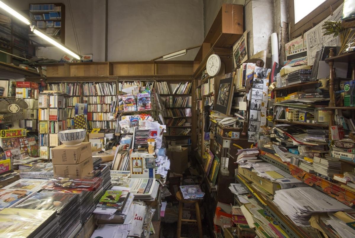 Interior de l'entranyable llibreria FOTO: Marc Vila