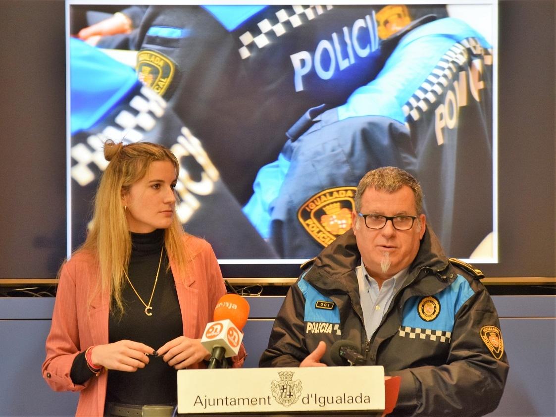 La regidora Carner i l'inspector Dalmases