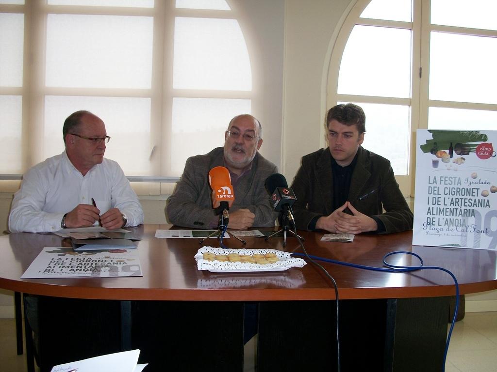 El Gremi d'Hosteleria, el Consell Comarcal i el Consorci de l'Alta Anoia en una aposta conjunta per la gastronomia de la comarca