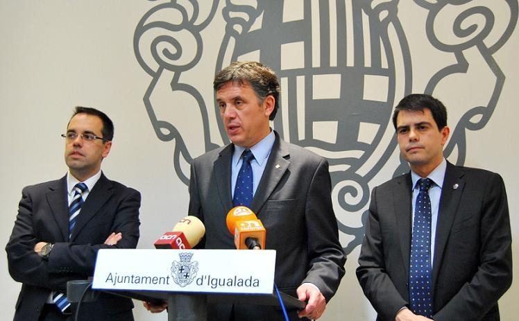 Carles Sala, Lluís Recoder, i Marc Castells