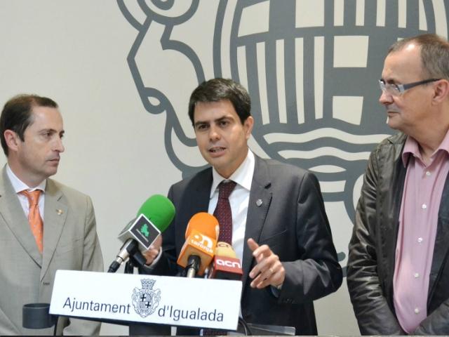 Josep Oliva, Marc Castells, i Joan Torras
